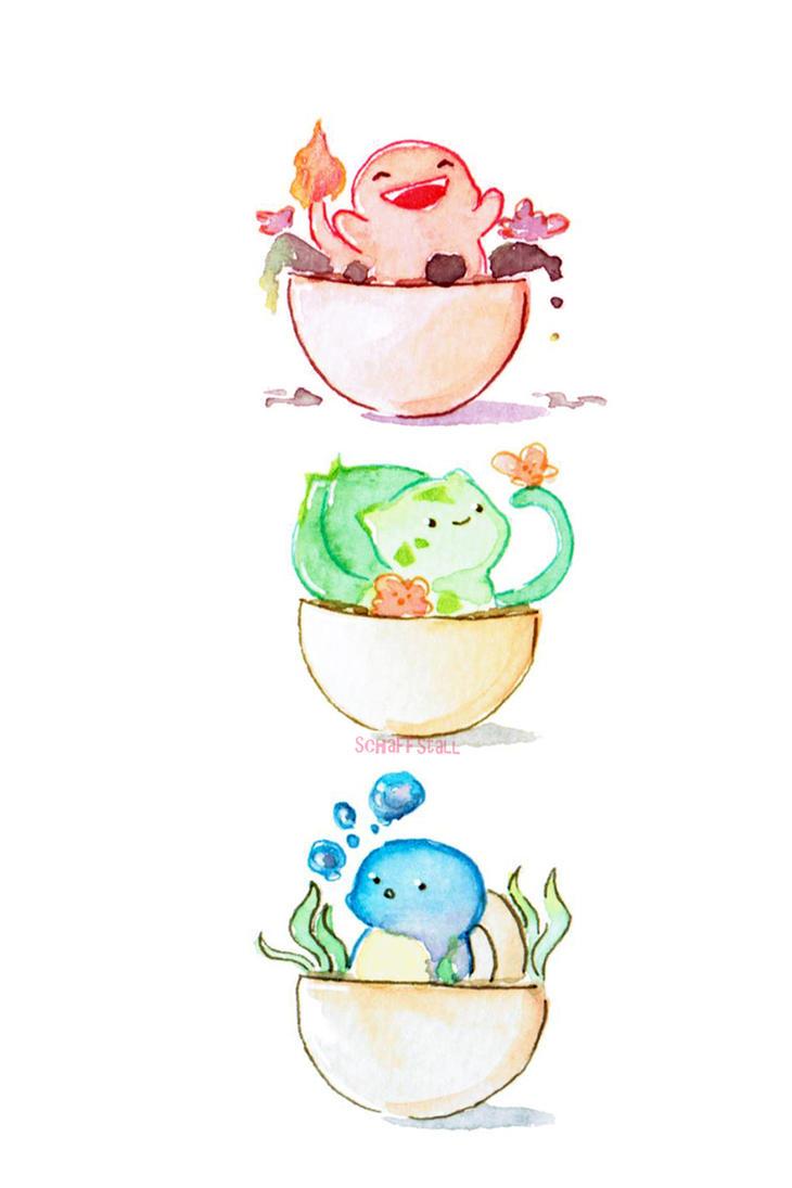 Starter Poke'Pots by Meep-and-Mushrat