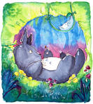 Totoro - What's this? by L-Y-N-S