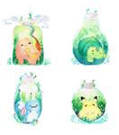 Gen 1 Pokemon Bottles