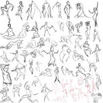 60 30 second gesture drawings