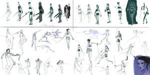 Kxhara: Sword Poses