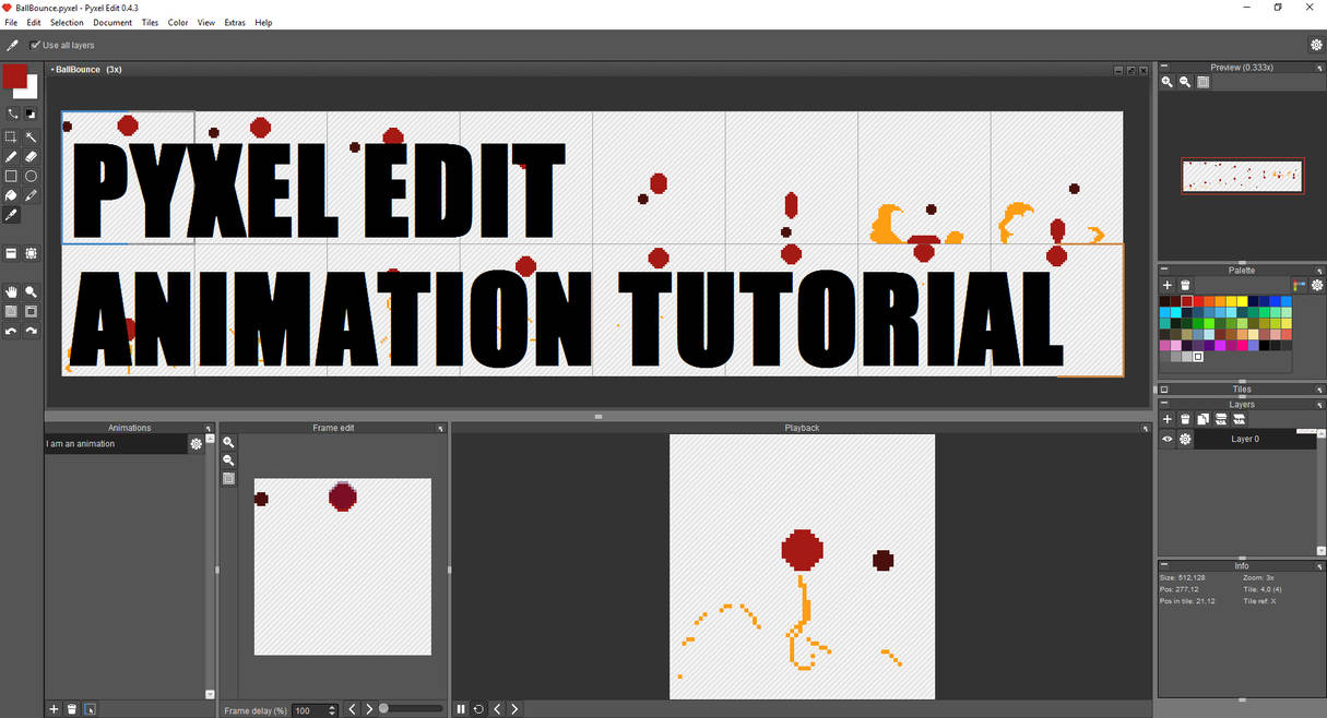 3f77a3be17 Pyxel Edit Animation Tutorial: YOUTUBE LINK BELOW! by slyshand on ...