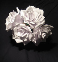 Paper Roses with Alice Text