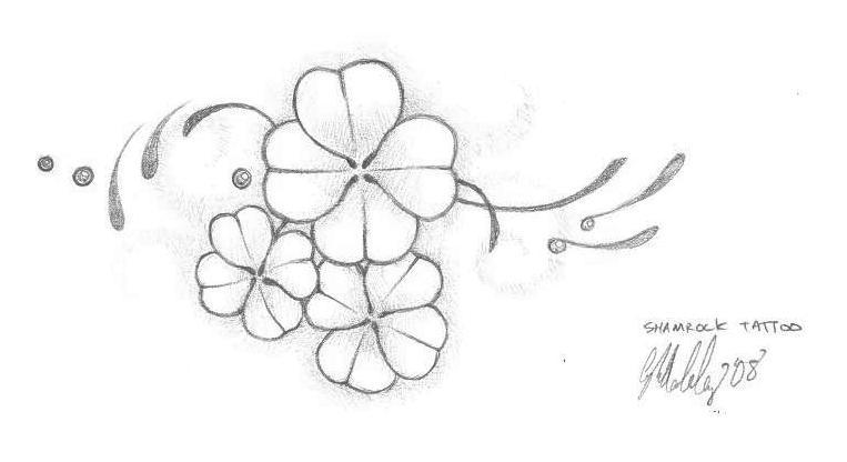 shamrock tattoo design by artaddict on deviantart. Black Bedroom Furniture Sets. Home Design Ideas