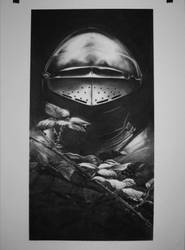 John Howes Knight charcoal