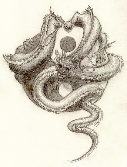 844c057c8 Yin Yang Dragon by artaddict on DeviantArt