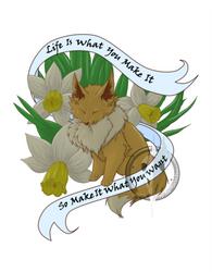 Inspirational Eevee by HpMp-Studios