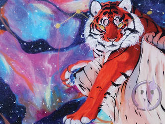 Galaxy Tiger by HpMp-Studios
