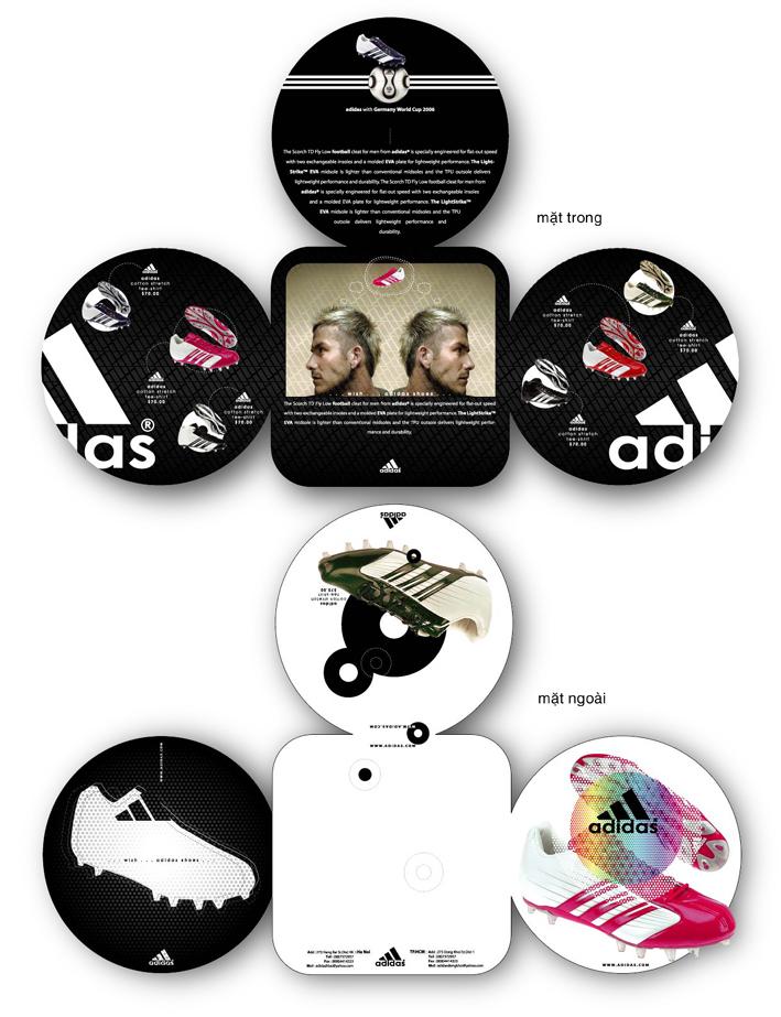 adidas brochure by tangbao