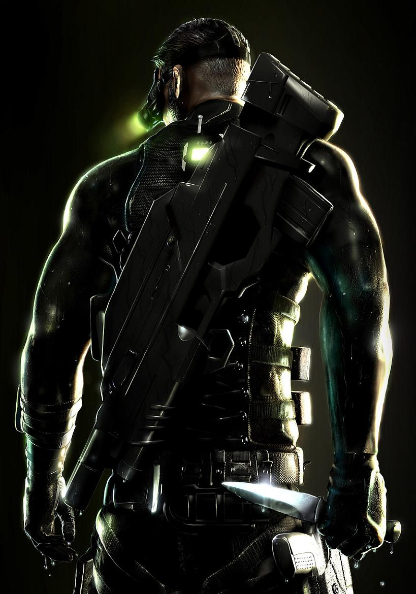 Sam Fisher by Hiddenus