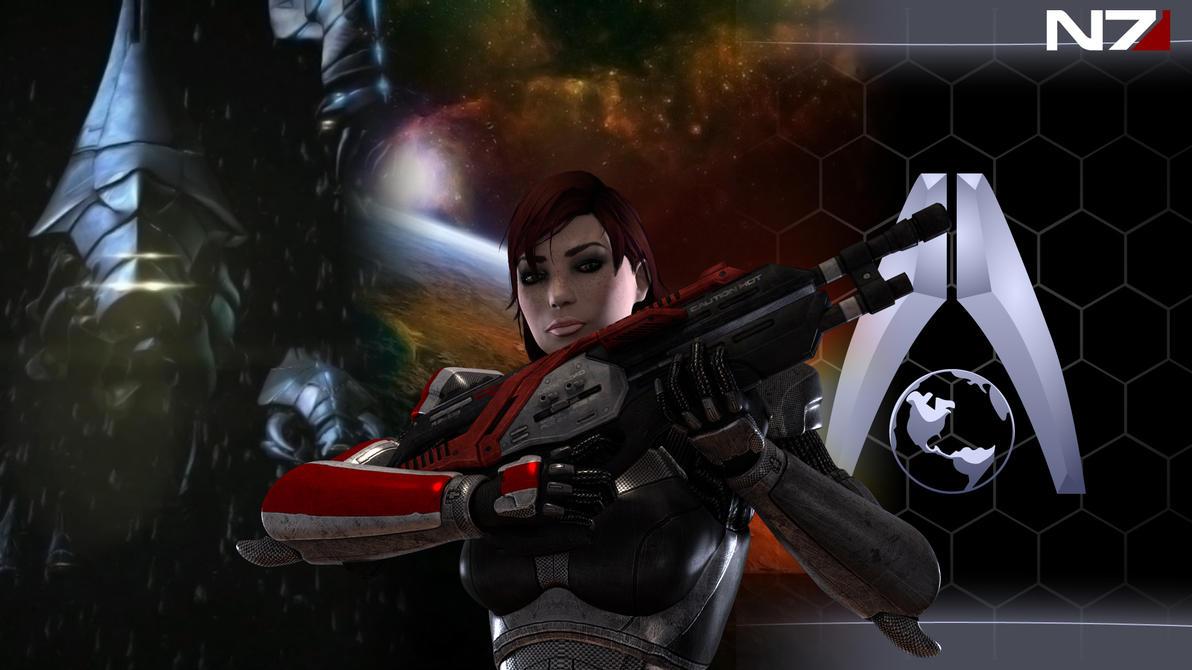 Mass Effect 3 Wallpaper 1 by Hiddenus