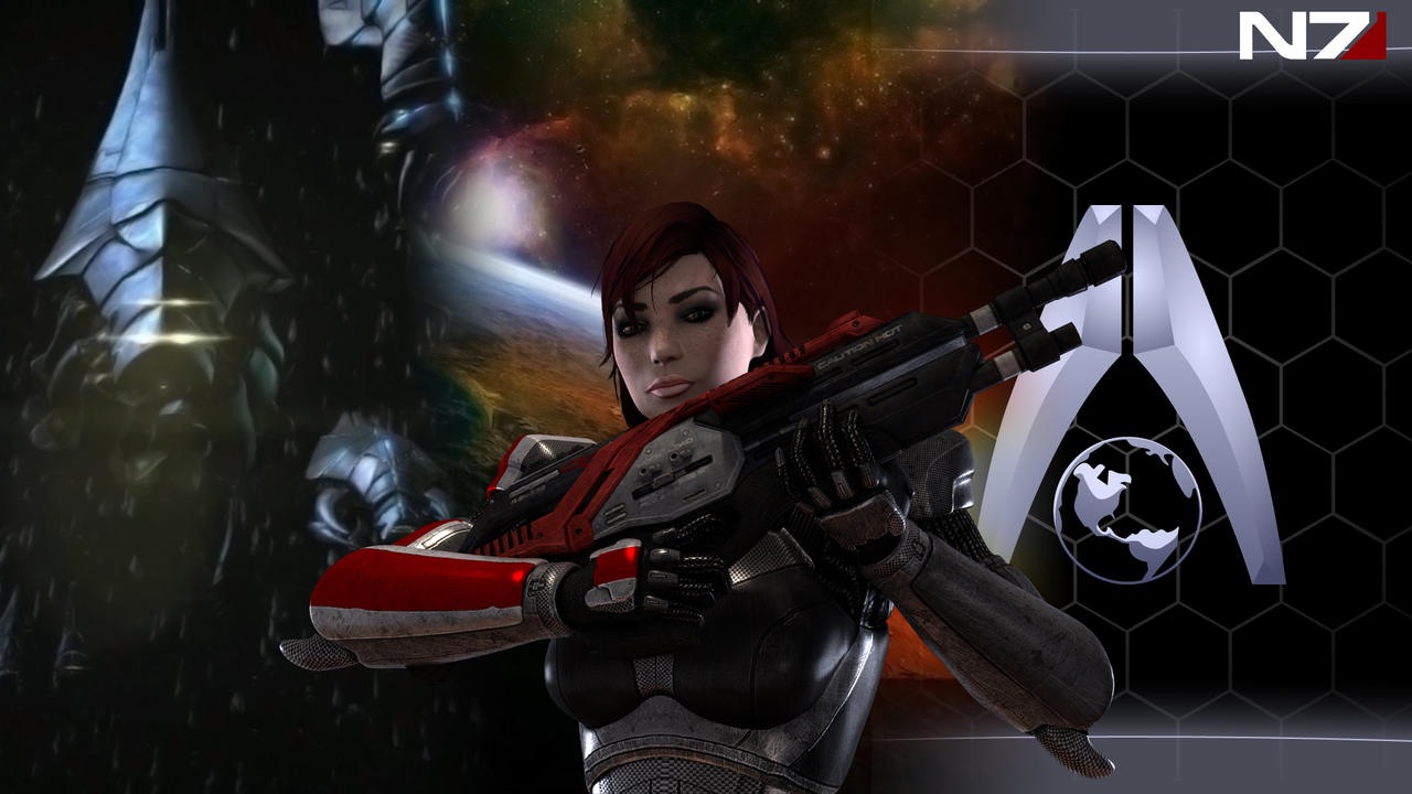 Mass Effect 3 Wallpaper 1 by Hiddenus