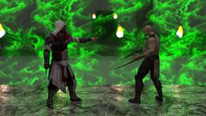Ezio vs. Baraka