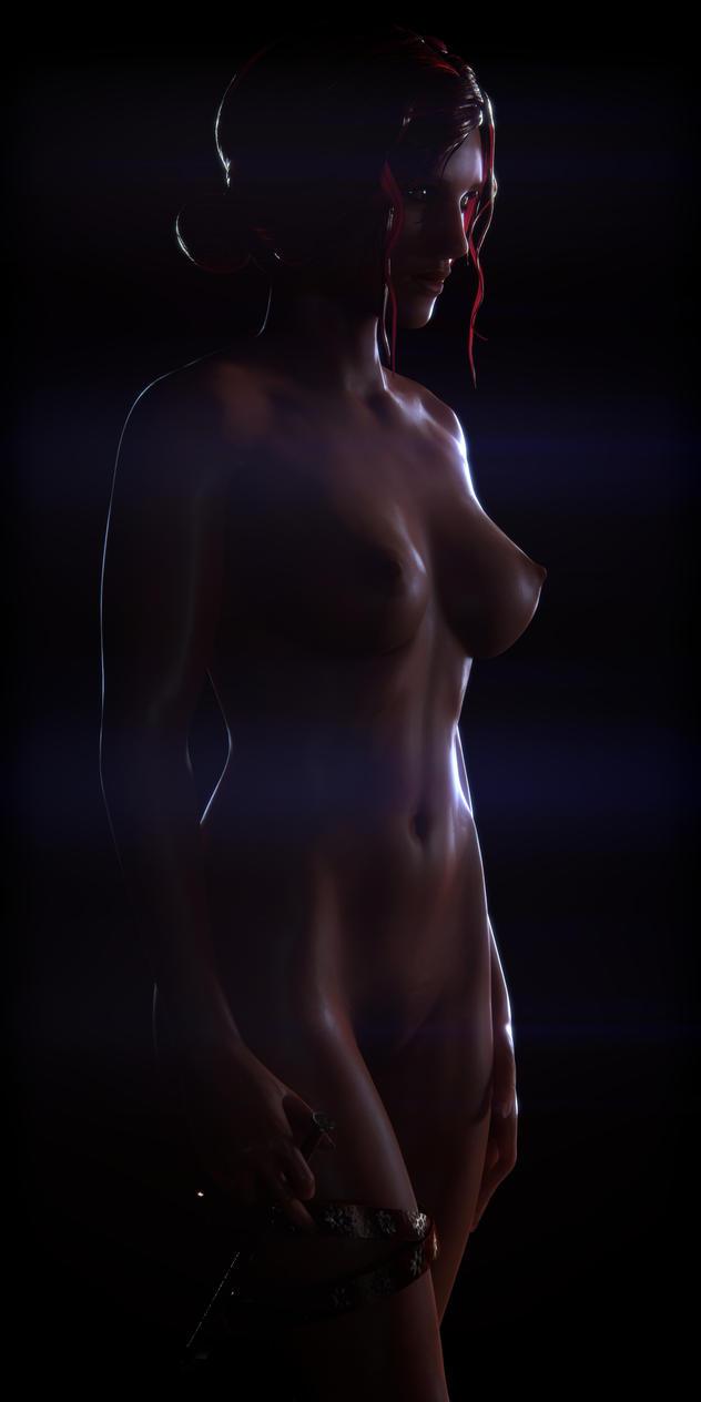 Triss Merigold by Hiddenus