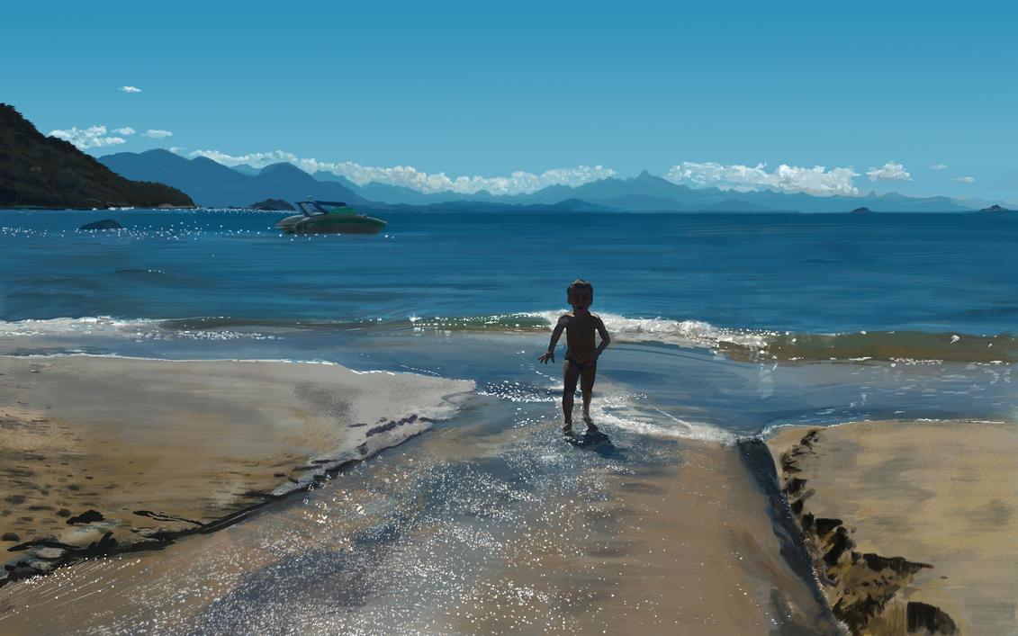 Beach Joy by carlosmrocha