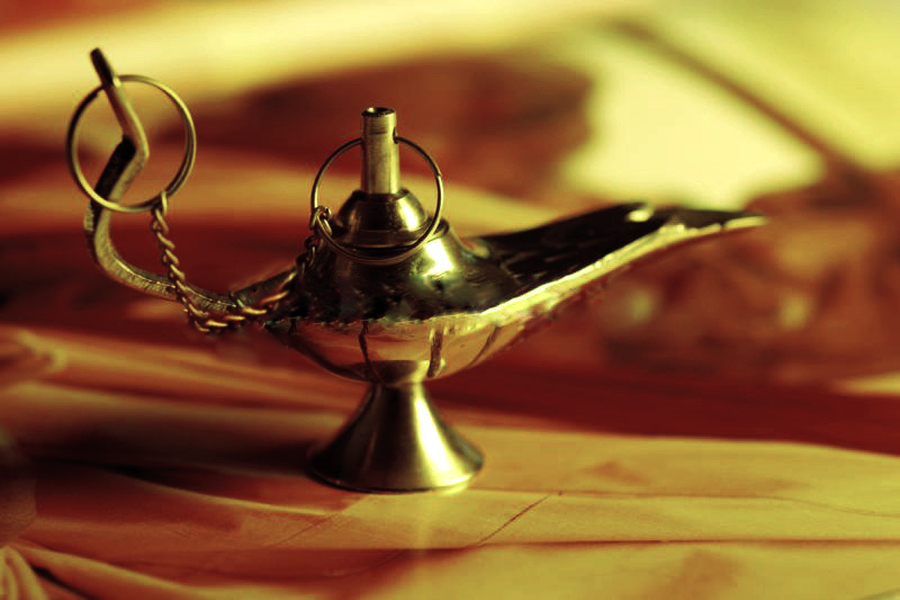 the magic lamp by larage4peace