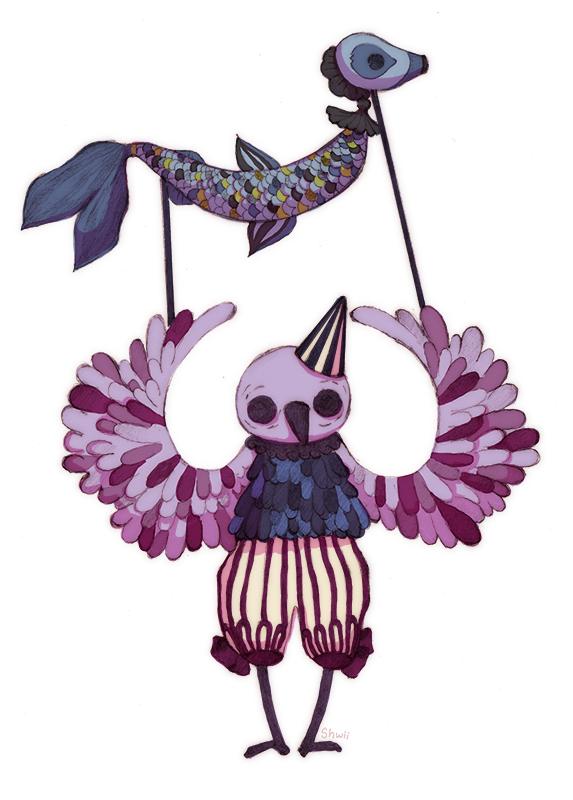 Weird Bird by shwippie