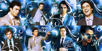 Ian Somerhalder icons. by GraphicsLailaa
