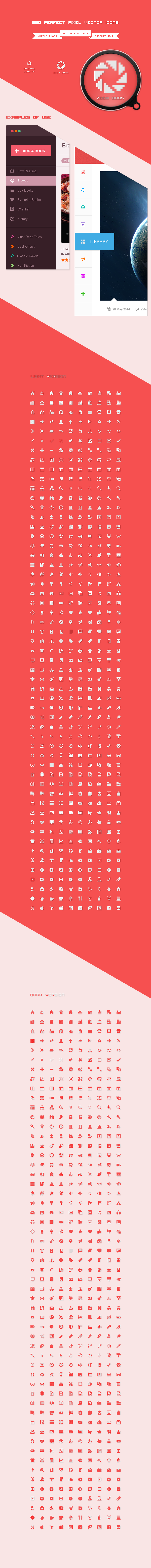 550 perfect pixel vector icons by vuongthanhchung