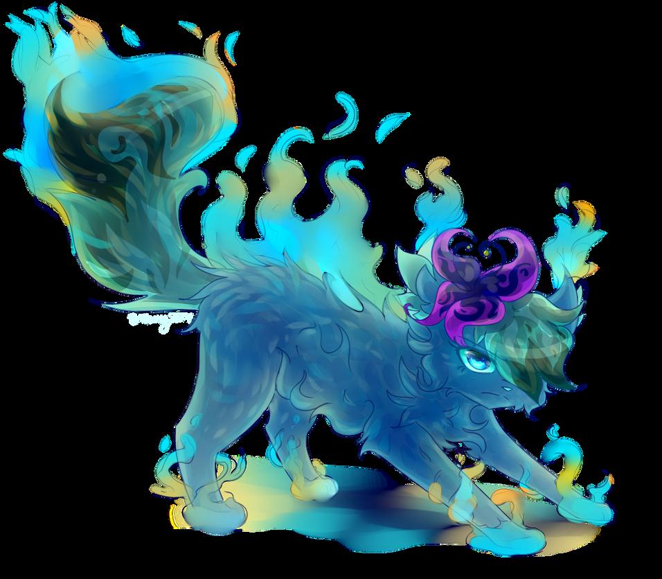 Blue Goo by Bluefire-kitteh