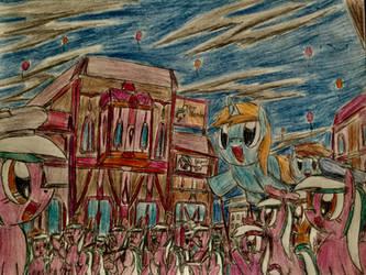 MLP: Sketch Pad Parade by Paladin360