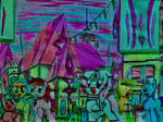 MLP: Walking in Hyvella City