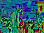 MLP: Eternity of over city view