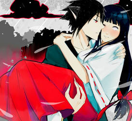 The Youkai and the Shrine Maiden