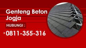 Distributor Genteng Beton Di Jogja | Call 0811-355
