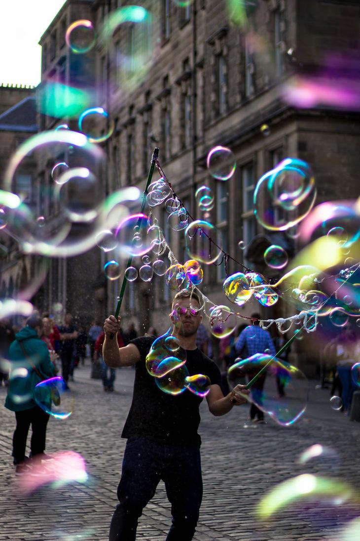 Bubbles by corvidius