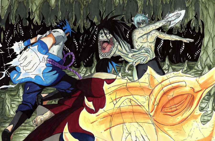 Sasuke And Itachi Vs Kabuto Sasuke and itachi vs kabuto by