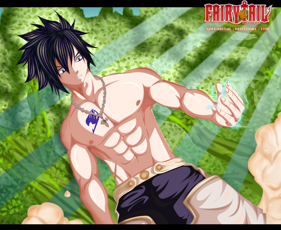 FairyTail 349 - Gray Fullbuster by AJM-FairyTail