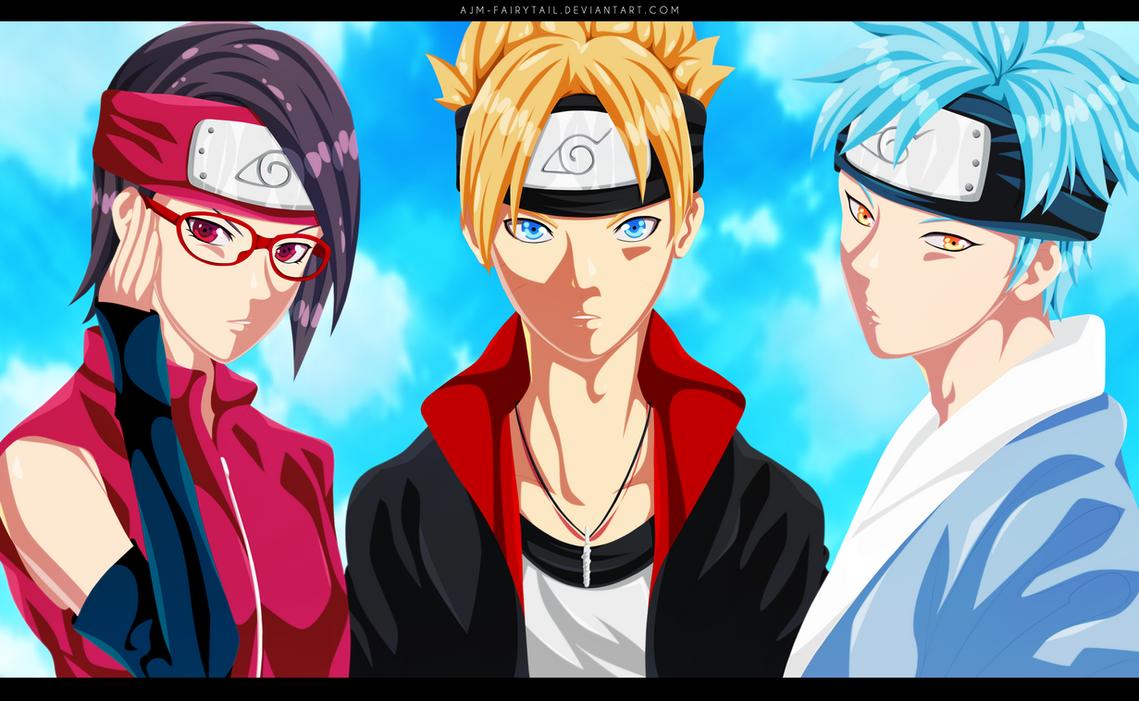 Team Boruto by AJM-FairyTail