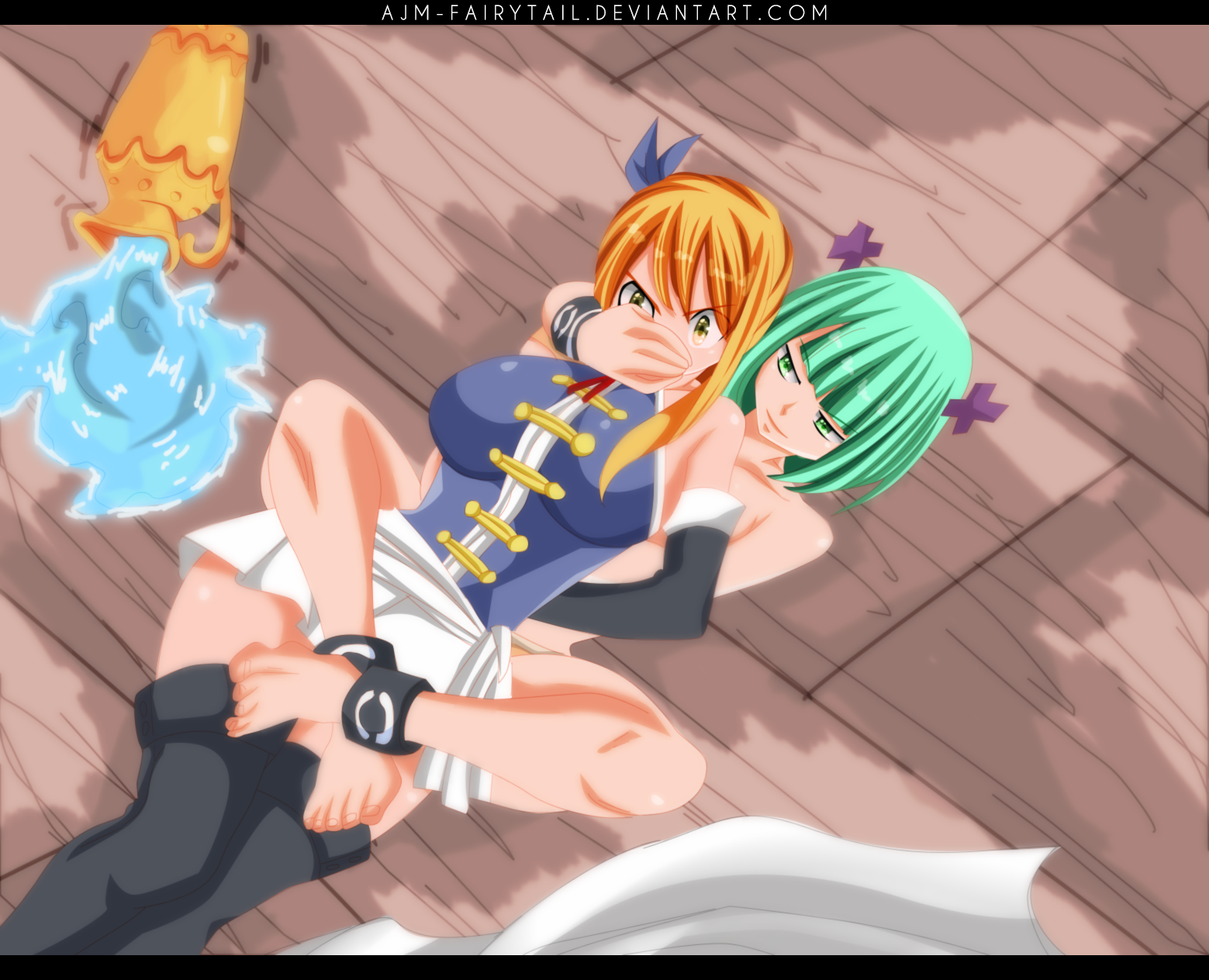 FairyTail 467 | Lucy and Brandish