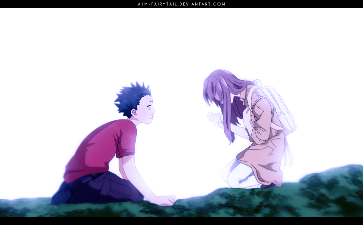 Koe no katachi by ajm fairytail on deviantart for Koi no katachi