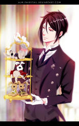 You See, I'm Simply One Hell of a Butler