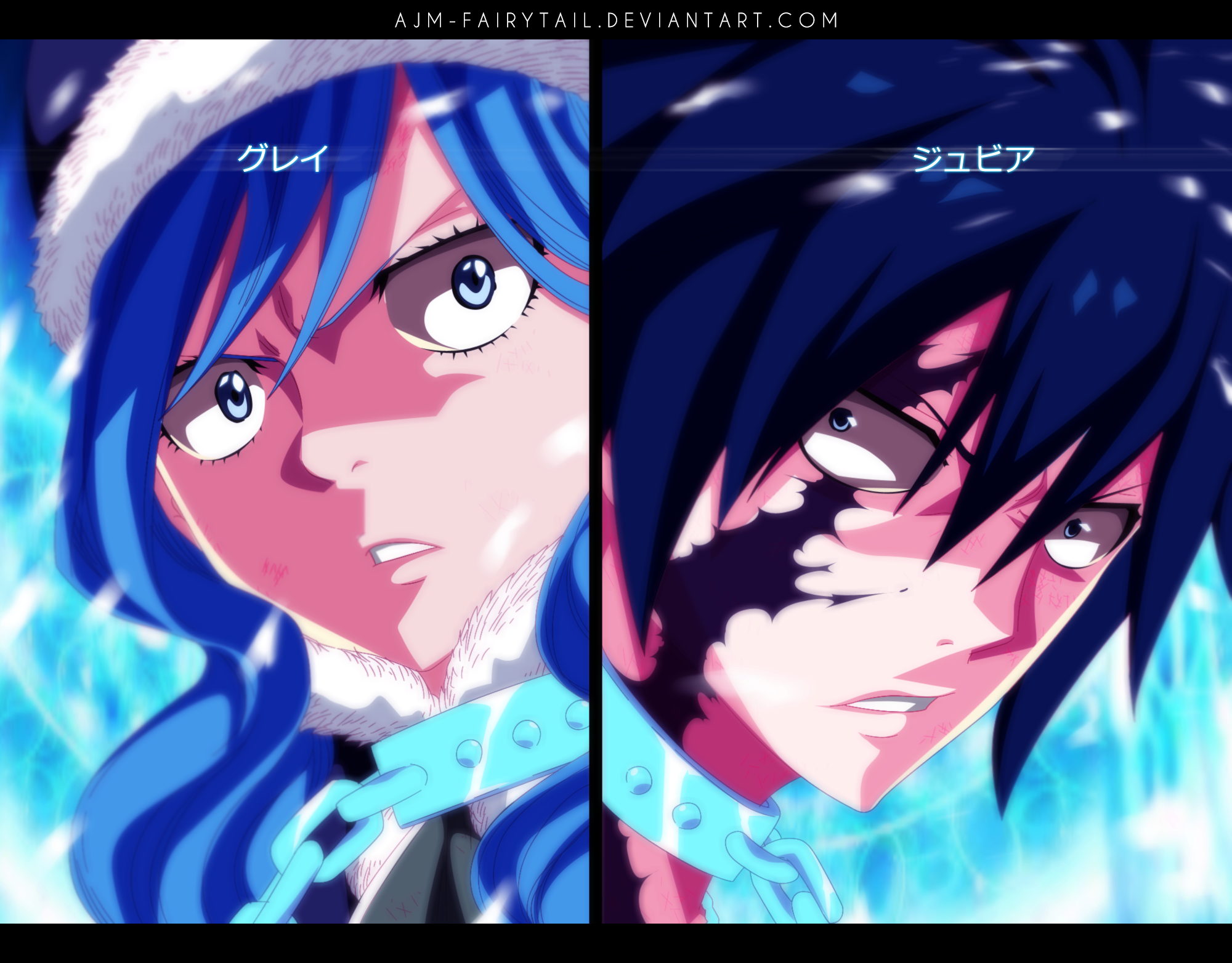 fairytail_face off by ajm-fairytail