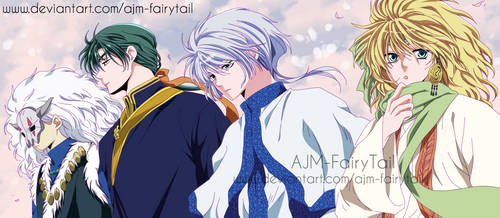 Akatsuki No Yona   Four Dragons by AJM-FairyTail