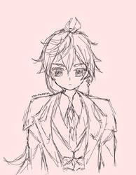 Zhongli sketch by AJM-FairyTail