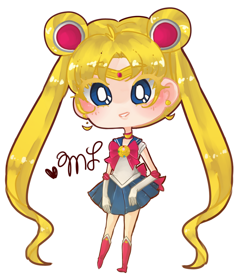 Sailor Moon by houtani