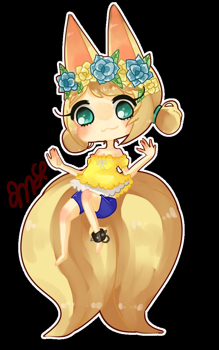 oc -- Kiki Chibi by houtani