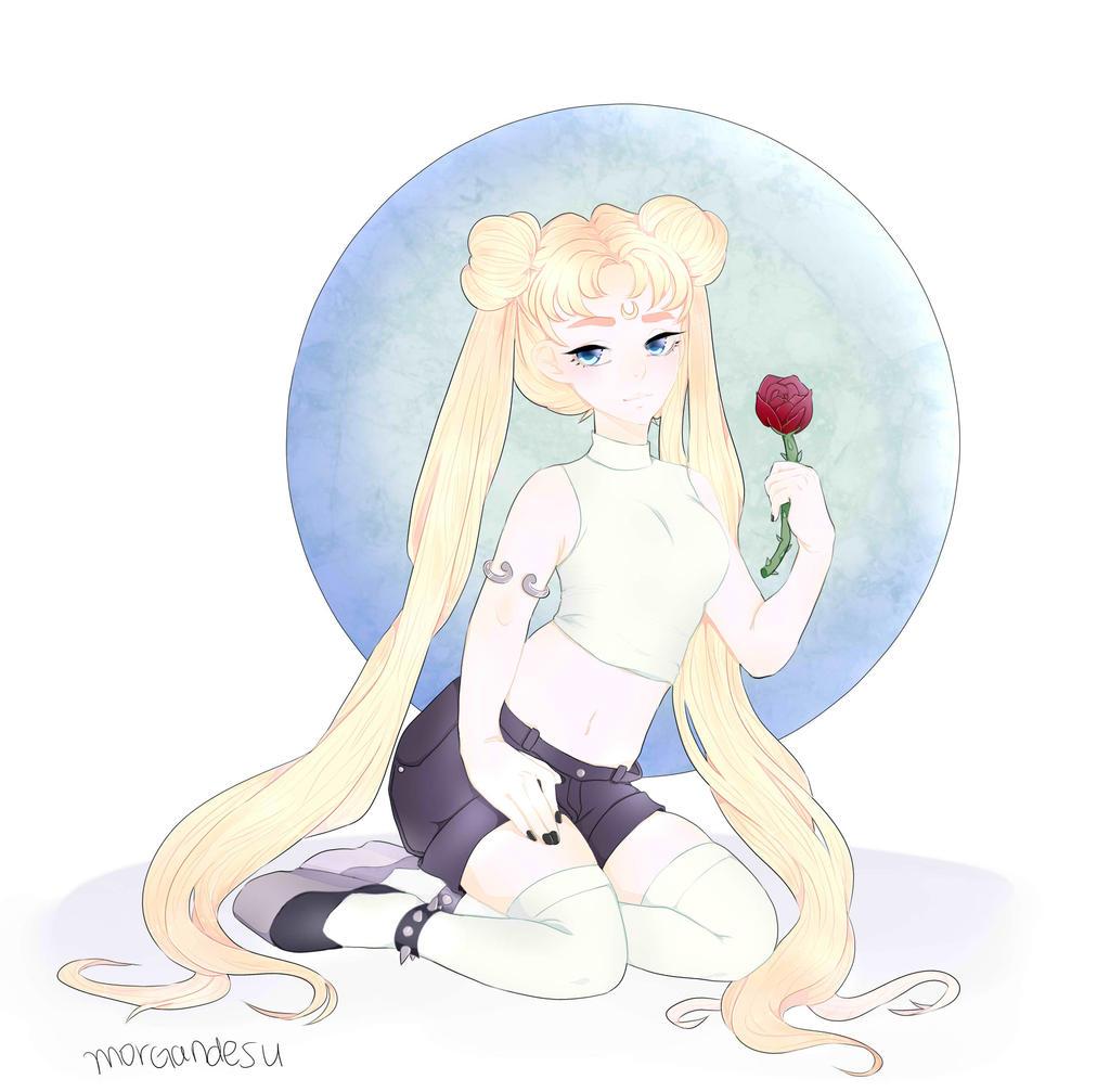 Sailor Moon -- Grunge Usagi by houtani