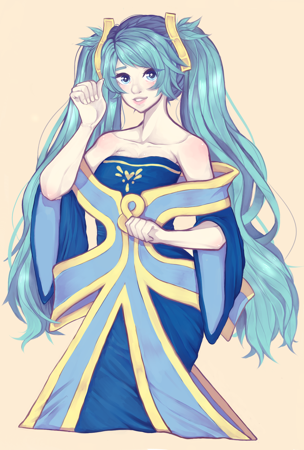 Lol -- Sona by houtani