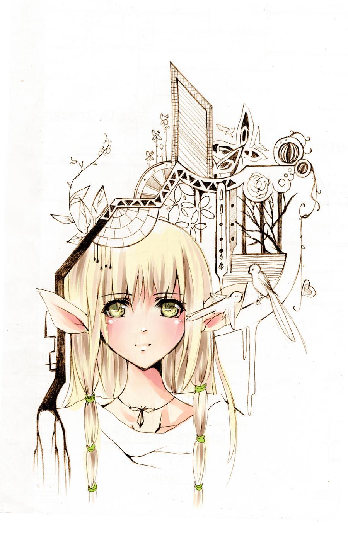 Elf by aiki-ame