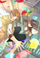 Childhood fantasy by aiki-ame