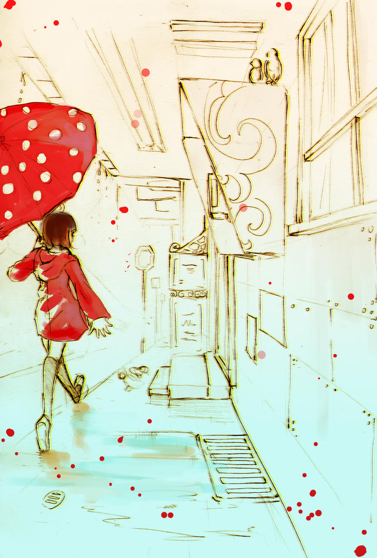 Rainy Days II by aiki-ame