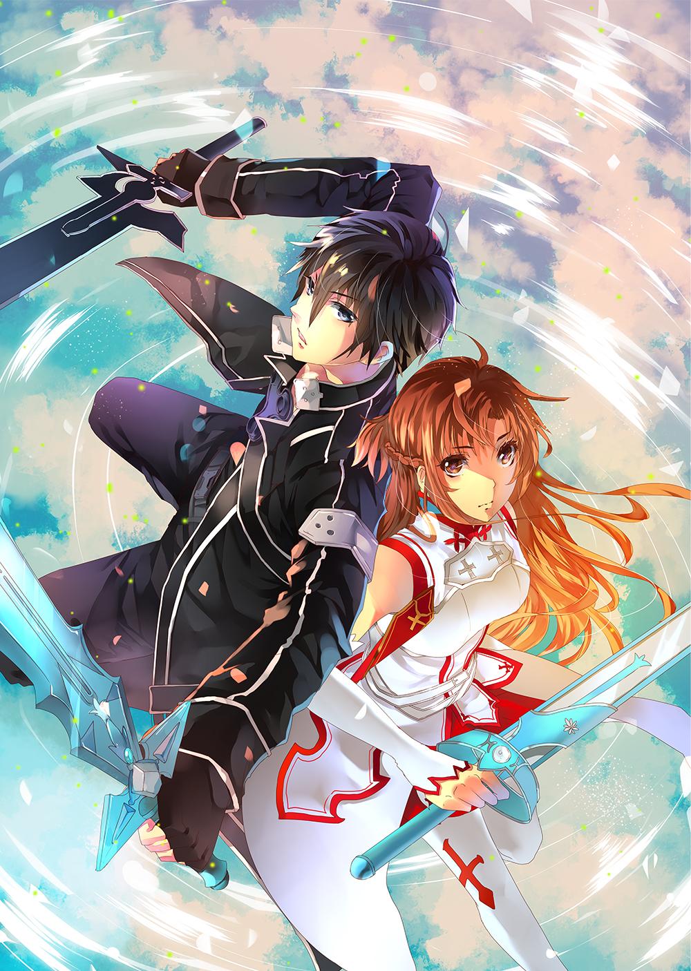 Sword Art Online fanart by aiki-ame