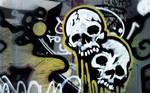 Skull faced