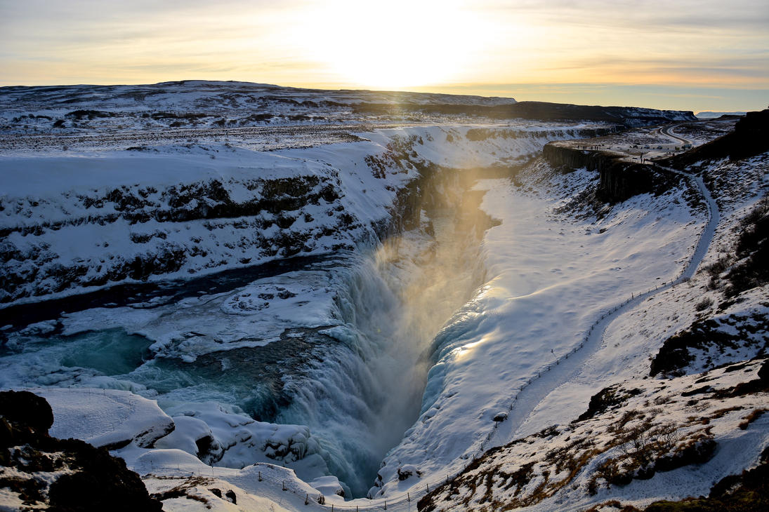 The Great Gulfoss by candentesomnium
