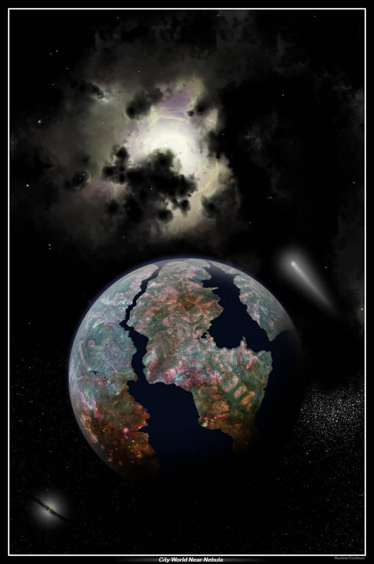 City World Near Nebula by NuclearCookout